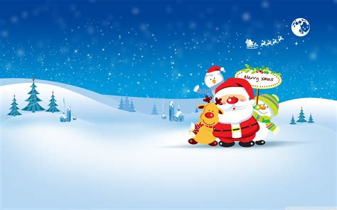 wallpaper merry christmas santa claus snowman hd celebrations christmas  wallpaper