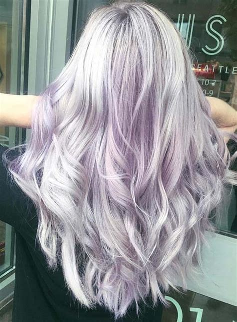 light purple hair color 55 prettiest light purple hair color ideas for 2018