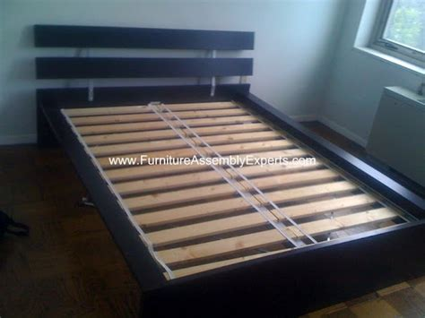 how to assemble a bed frame ikea hamar bed frame assembly