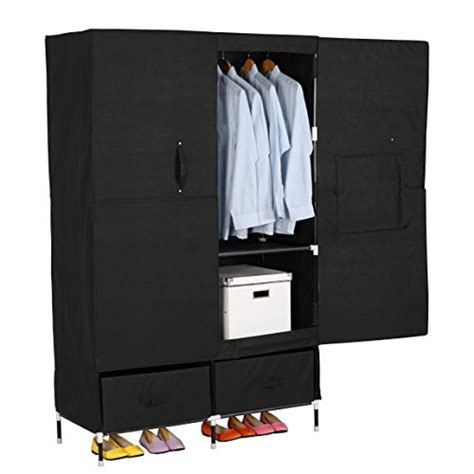 portable drawers for clothes woltu portable clothes closet wardrobe storage with 2