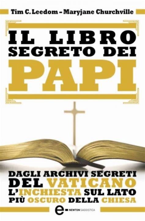 libro papi a novel il libro segreto dei papi newton compton editori