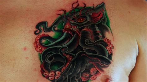 cthulhu lives tattoo nightmares spike