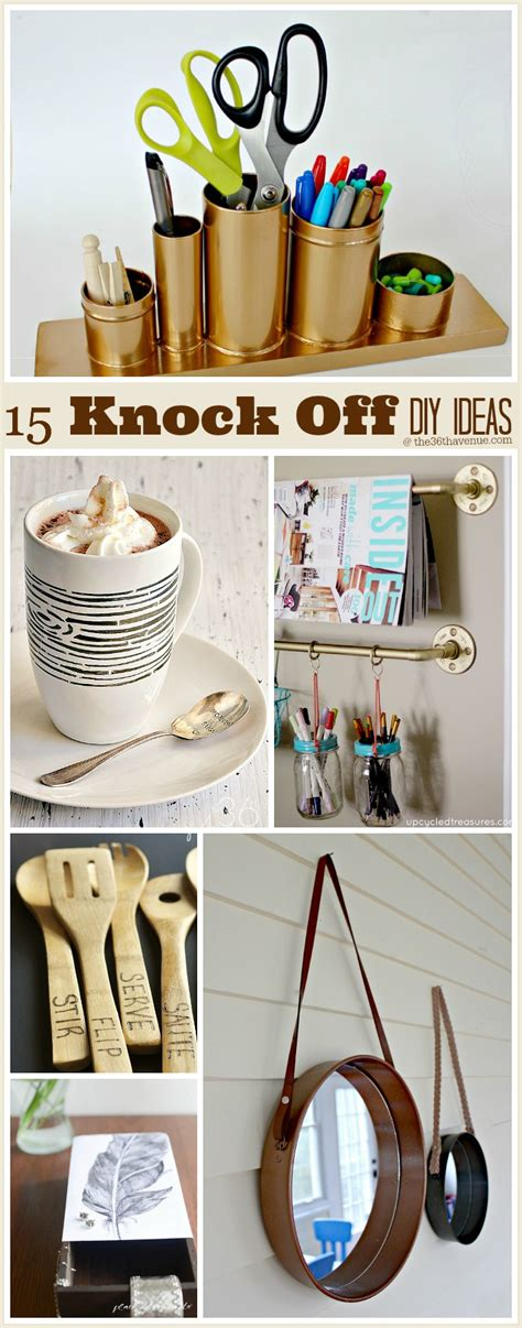 15 diy projects knock edition the 36th avenue