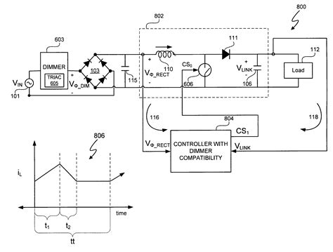 triac resistor wattage patent us8212491 switching power converter with triac based leading edge dimmer