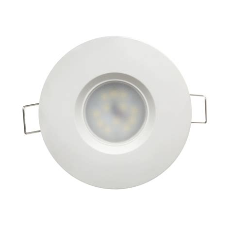 Lu Downlight 7w ultralux llv6527wh led downlight ip44 6 5w 2700k white