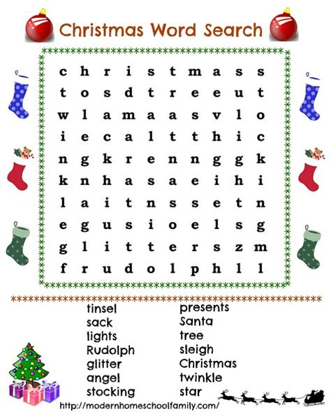 printable christmas word search with answers free coloring pages of christmas wordsearch
