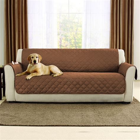 sofa protector dog universal 1 3 seater quilted waterproof sofa couch slip