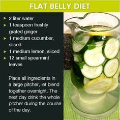 Belly Slimming Detox Water Reviews by 1000 Ideas About Flat Belly Diet On Diet