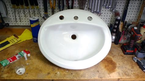 Chipped Porcelain Sink Repair by How To Fix A Chipped Sink