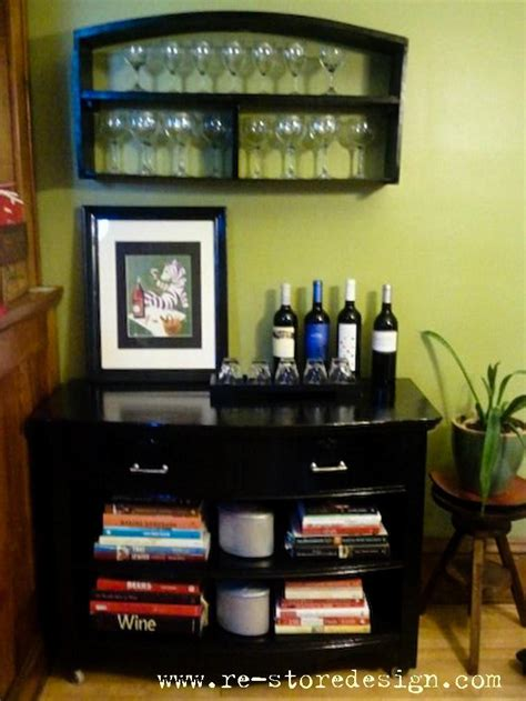 ana white dresser wine bar diy projects