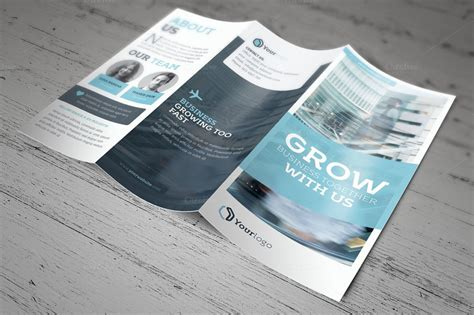 brochure template indesign adobe indesign tri fold brochure template 6 best