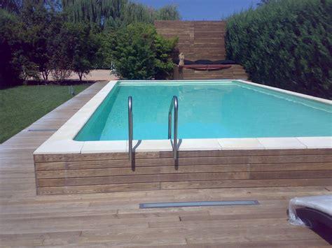 piscina in interrare una piscina fuori terra vivi la piscina