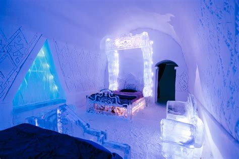 ice bedroom suite top 10 things to do in quebec this winter season