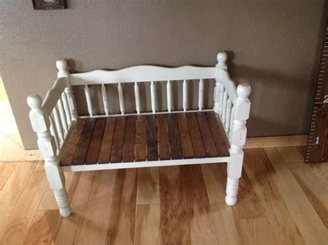 bench made from bed 1000 ideas about bed frame bench on pinterest bed