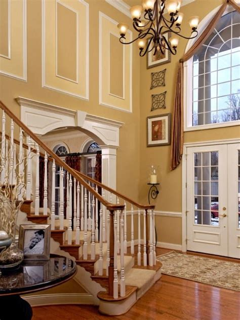 how to decorate a foyer in a home 1000 images about foyers on pinterest 2 story foyer