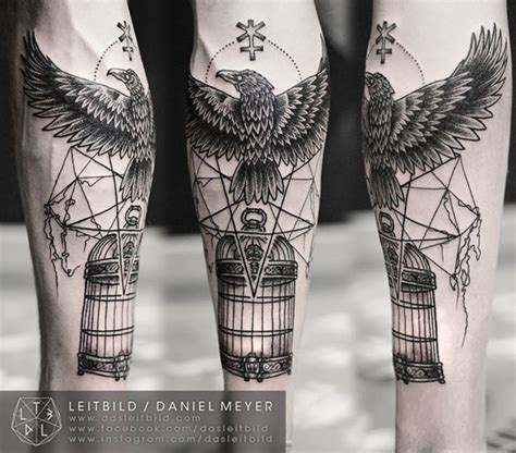 tattoo geometric background 100 incredible eagle tattoo design ideas