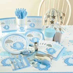 Blue Baby Shower Supplies by Elephant Themed Planning Ideas Supplies Baby