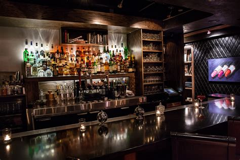 dining by design at the second story liquor bar