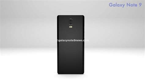 3 samsung note 9 galaxy note 9 concept images suggest design of new phone