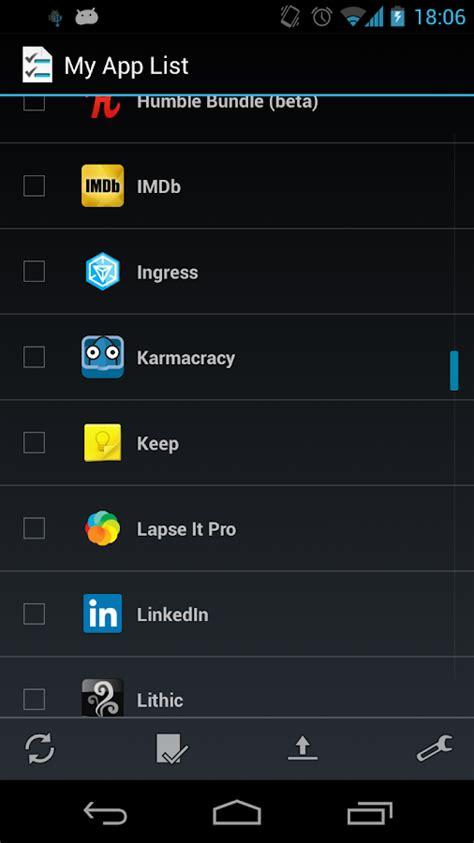 my android apps my app list applications android sur play