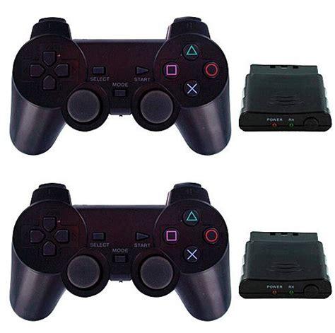 Stik Stick Ps2 Wireless Dualshock Sony Yellowkuning 2 wireless dual shock gamepad joystick controller for
