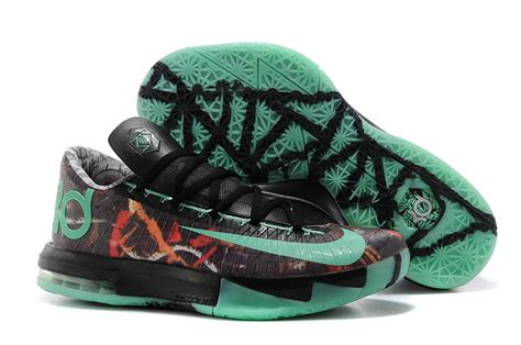 Nike Kd Vi All nike kevin durant kd 6 vi illusion all multi color green glow black for sale