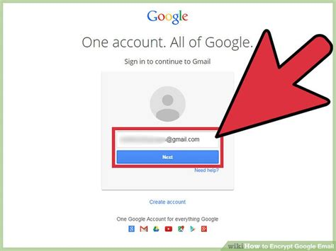 email from google how to encrypt google email with pictures wikihow