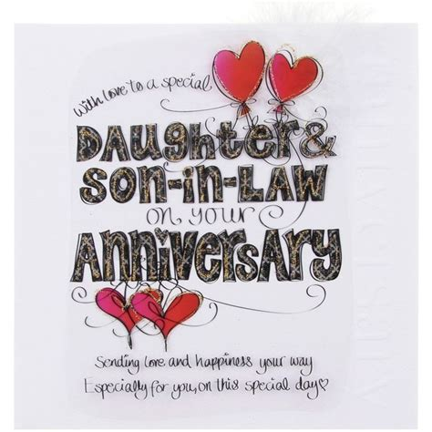 wedding anniversary quotes for inlaws cloud nine in anniversary large card