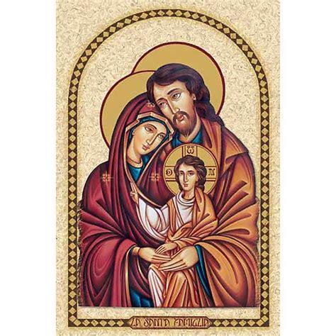 imagenes religiosas o sagradas esta religiosa sagrada familia con marco venta online