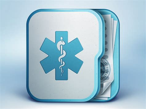 design an app icon medical app icon by ramotion dribbble