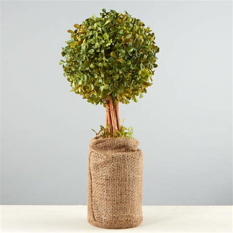 artificial boxwood topiary on sale home decor