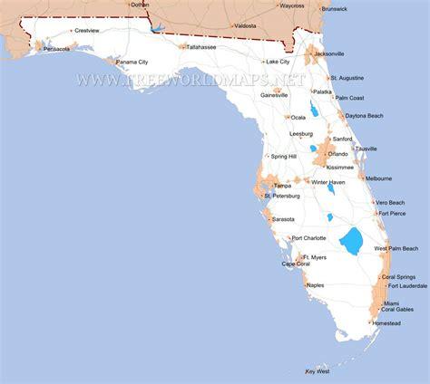 map us florida florida maps