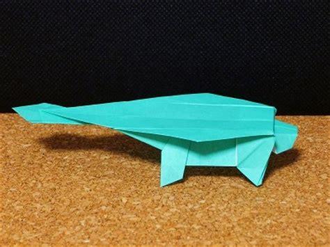 Origami Ankylosaurus - 折り図 アンキロサウルス ankylosaurus 恐竜の折り紙