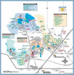 Disney World Transportation Map by Links To Printable Pdf Maps Of Walt Disney World Resort