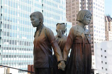comfort women monument comfort women memorial unveiled in san francisco 1