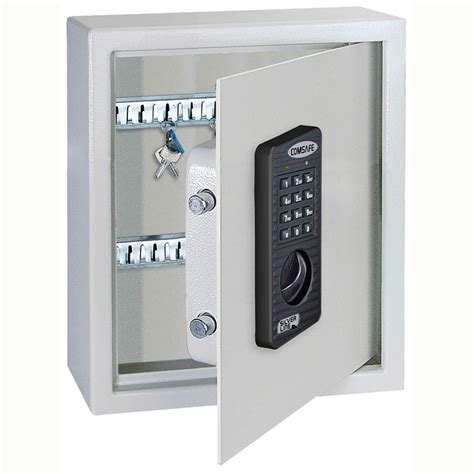 Key Control Cabinet by Keytronic Fire Safe Key Cabinet Electronic 183 Barriers Direct