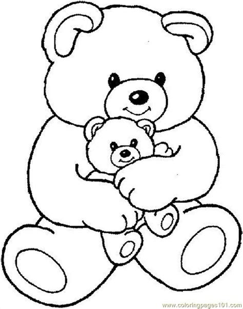 teddy bear coloring pages free printable teddy bear coloring pages free printable coloring home