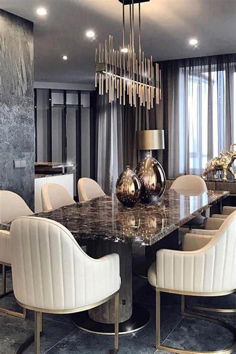 modern dining room sets   big family