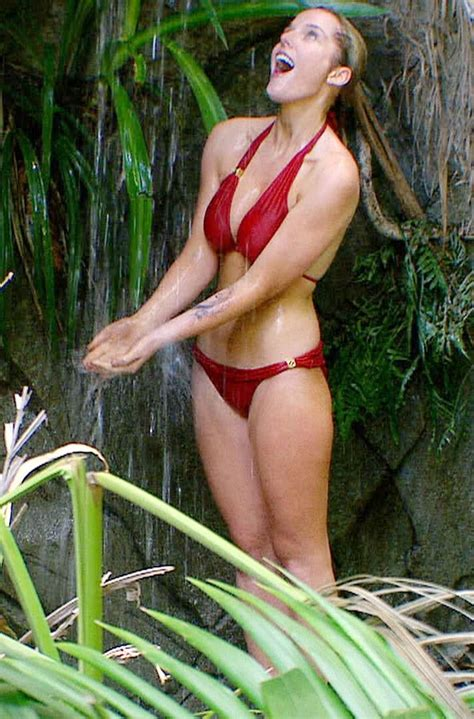how is in celebrity jungle 2017 i m a celebrity nadia forde goes topless in racy 2015