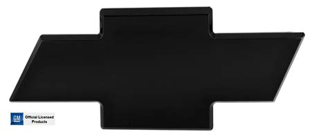 all sales 96095k tailgate emblem black powder coat