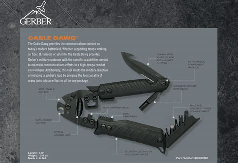 gerber all in one tool field testing the gerber cable dawg its tactical
