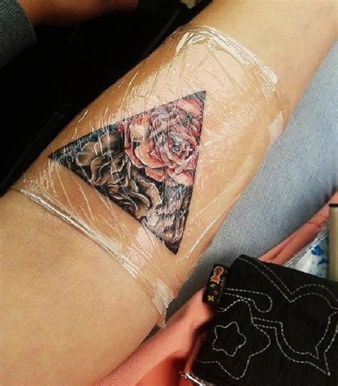 35 cute triangle glyph tattoos nenuno creative