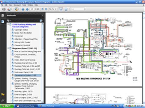 1970 mustang solenoid wiring diagram get free image