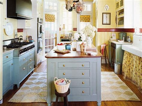 cottage style kitchen islands bloombety simple cottage style decorating ideas for
