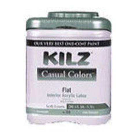 kilz casual colors interior exterior flat paint reviews viewpoints