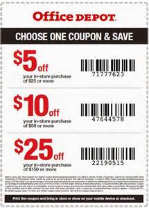 Office Depot Coupons Office Depot Printable Coupons July 2017