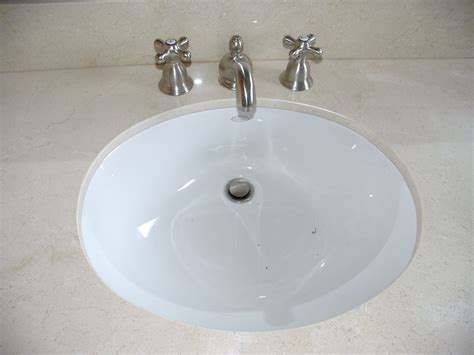 pictures of sinks undermount versus overmount bathroom remodel blog