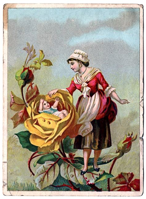 victorian archives page 3 of 5 the graffical muse victorian clip art lady with rose baby the graphics fairy