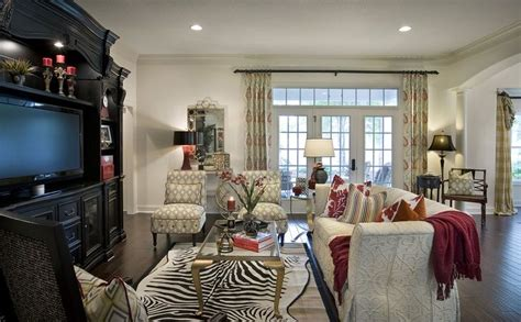 who decorates model homes decorated model home animal print home decor pinterest