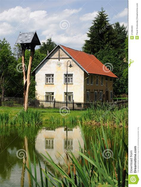 republic house old traditional house czech republic stock image image 21286463